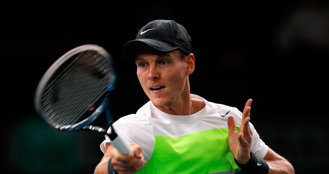 Tomas Berdych: Expected to lead the Czech charge in the Davis Cup final