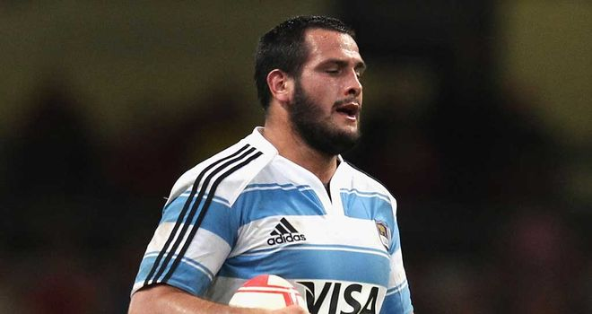 Juan Figallo: Three-week ban for Argentina prop, found guilty of a head-butting offence