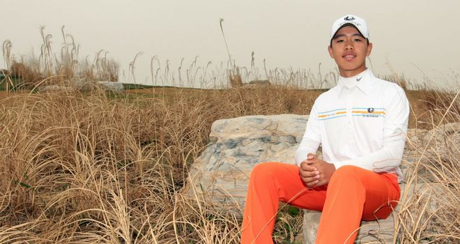 Guan Tian-lang: Will play at next year's Masters after winning the Asia-Pacific Amateur Championship
