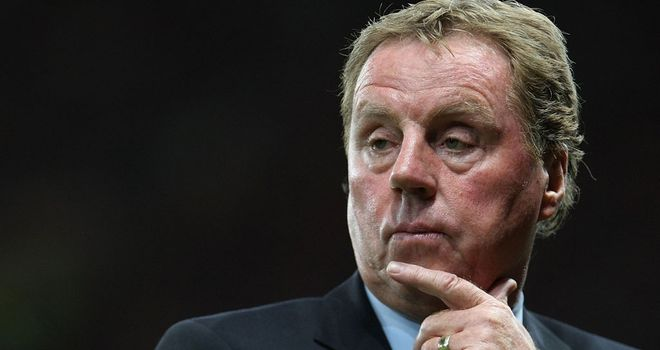Harry Redknapp: Charged with the task of guiding Queens Park Rangers to Premier League survival