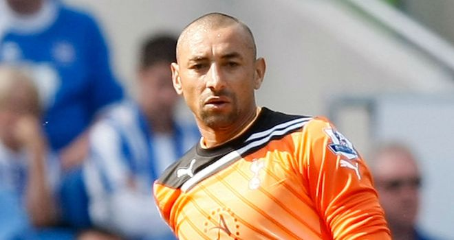Heurelho Gomes: Hoping to leave Tottenham this month