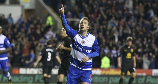 Adam Le Fondre: Delighted with Reading's victory over Everton