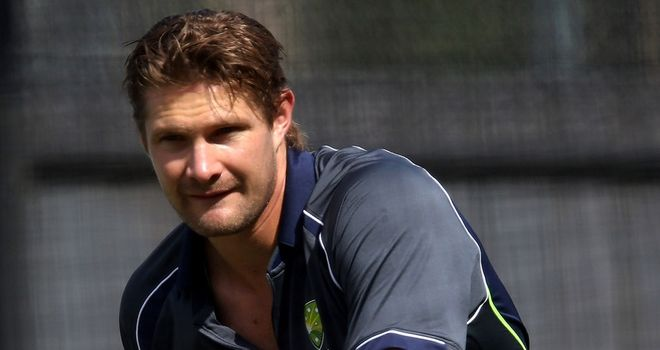 Shane Watson: Missed the first two Tests series in Brisbane and Adelaide with a calf injury