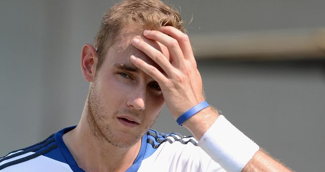 Stuart Broad: Yet to take a Test wicket in India
