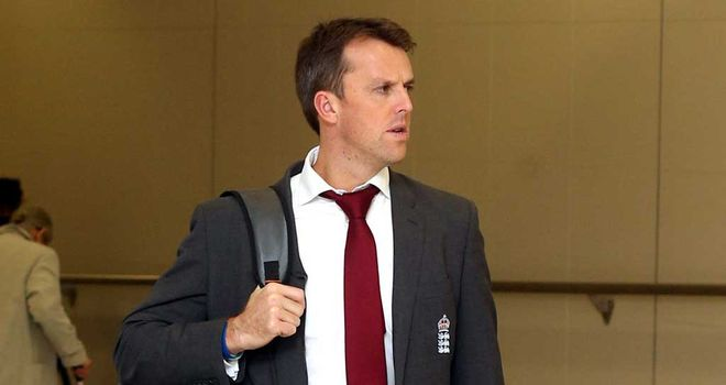 Graeme Swann: England spinner now back in India