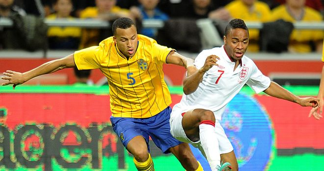 Raheem Sterling: In action for England against Sweden