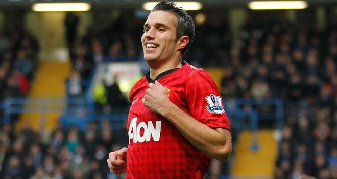 Robin van Persie: Manchester United striker up against his former club