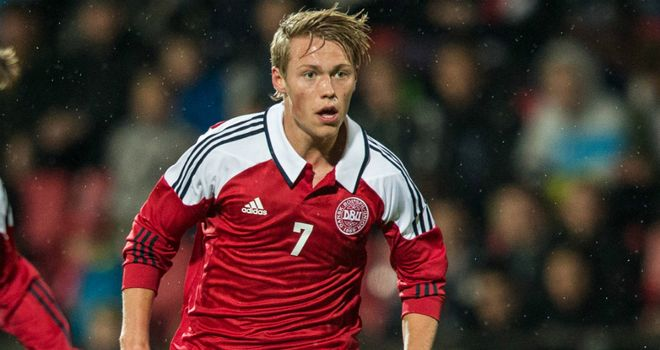 Viktor Fischer: The 18-year-old has been watched by some of Europe's elite clubs