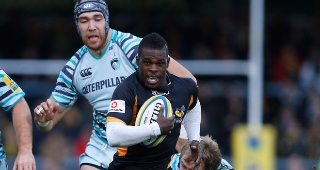 Christian Wade: winger touched down for Wasps