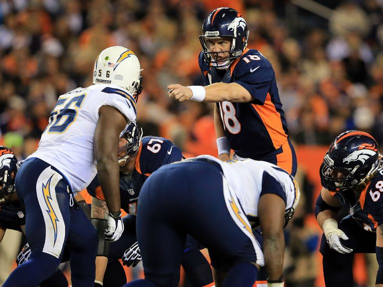 Peyton Manning: Helped Denver Broncos to victory