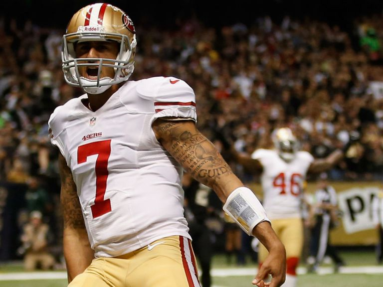 Colin Kaepernick: Impressed in only his second start