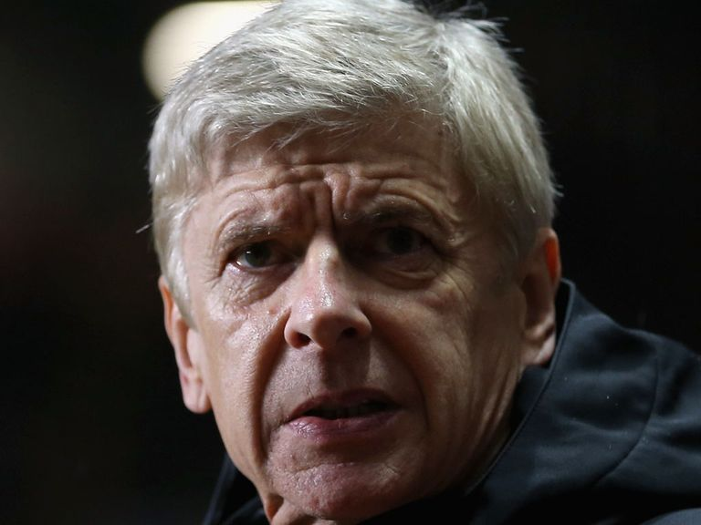 Arsene Wenger: Confident of climbing table
