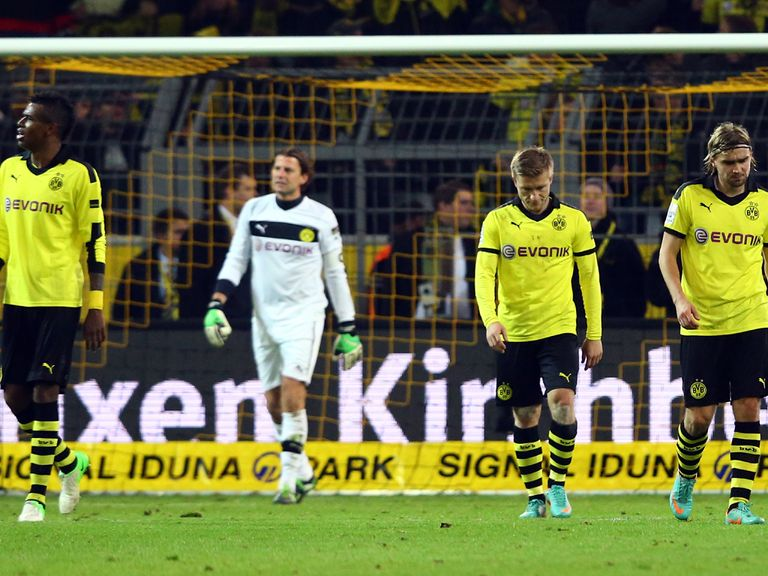 Dortmund were held to a draw by Fortuna Dusseldorf