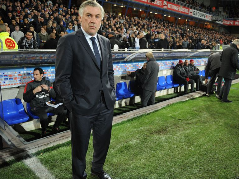 Carlo Ancelotti: Please with PSG response against Troyes