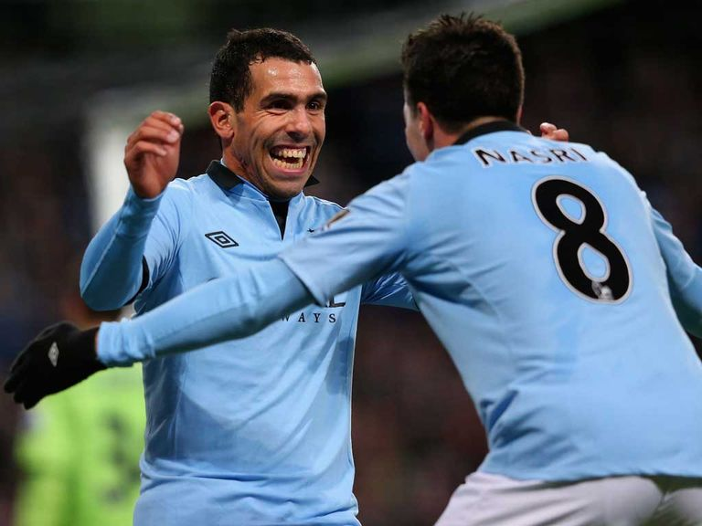 Carlos Tevez: Motivated by Mancini's words