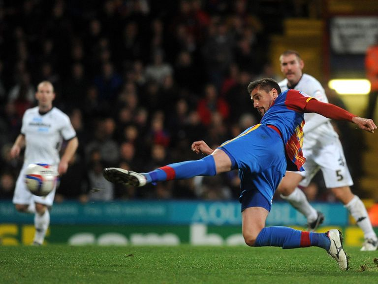 Andre Moritz scored for Crystal Palace