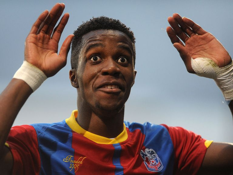 Wilfried Zaha: Manchester City interest