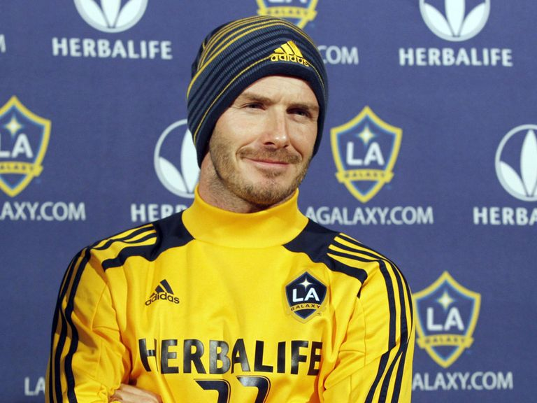 David Beckham: Linked with a move to France