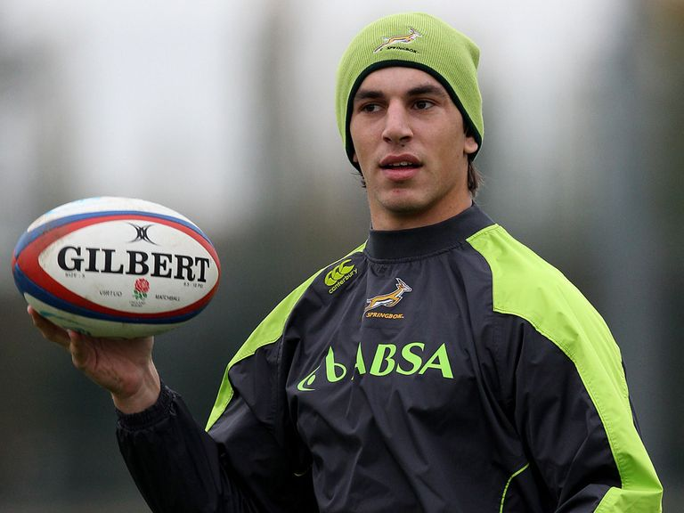 Eben Etzebeth: Starts in second row