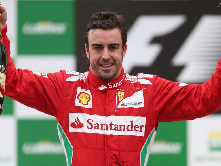 Fernando Alonso: Second in the final standings