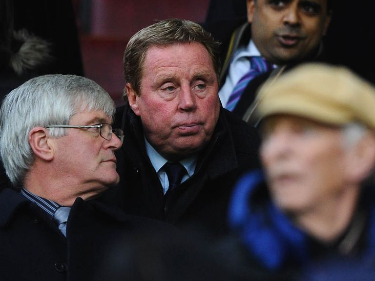 Redknapp: Watched QPR lose from the stands