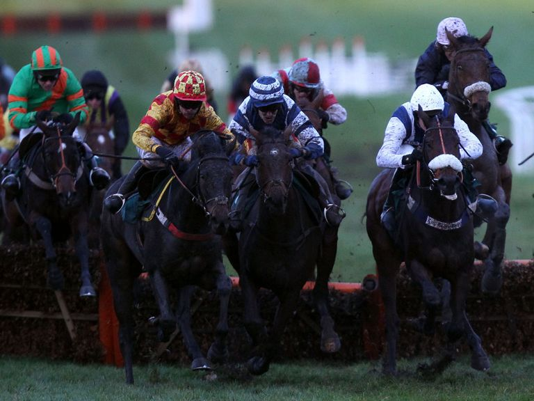 Ifandbutwhynot (yellow and red silks) in winning action