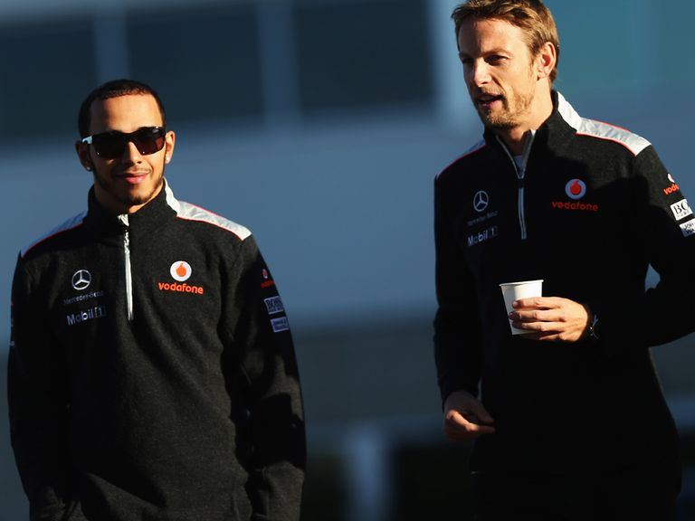 Button: Looking to sneak second spot