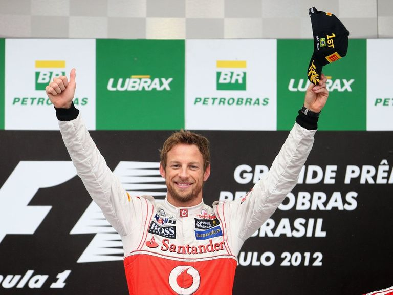 Jenson Button: Finished season on a high