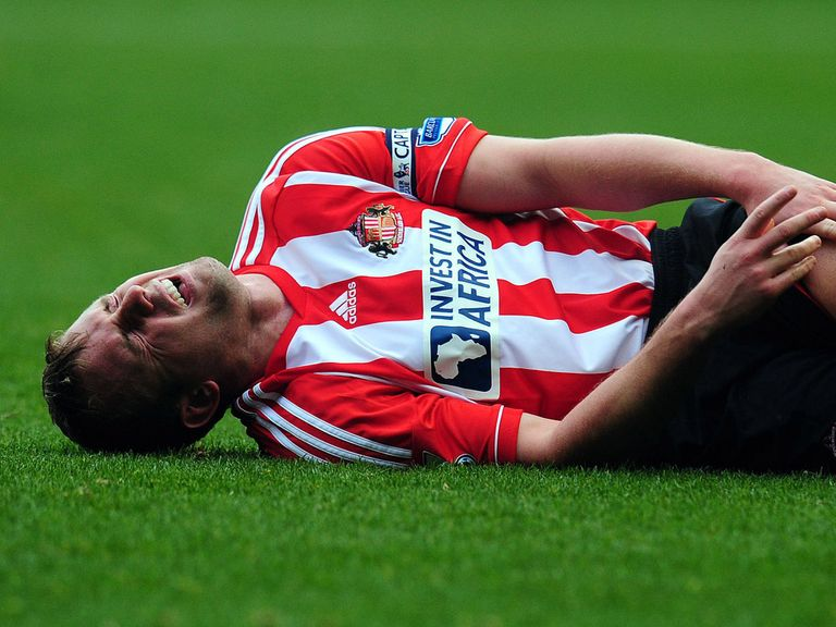 Lee Cattermole: Injury woe