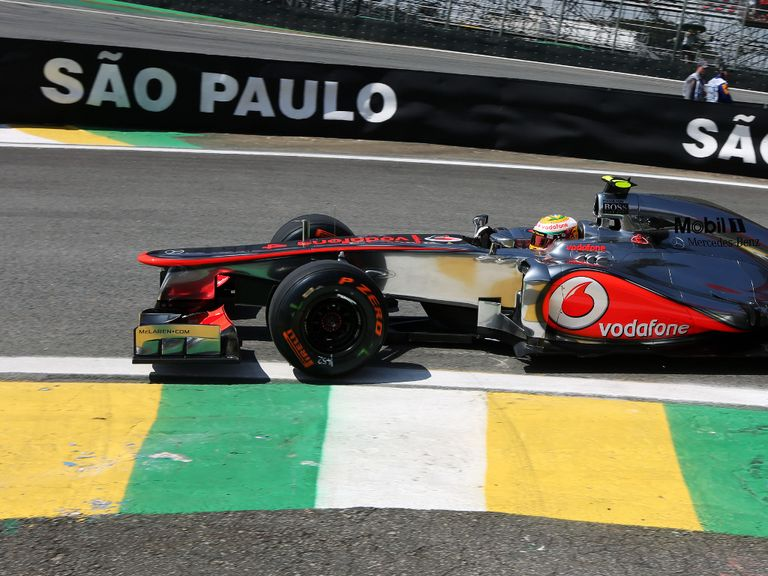 Hamilton: Quickest so far in Brazil