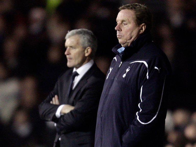 Will Redknapp replace Hughes at QPR?