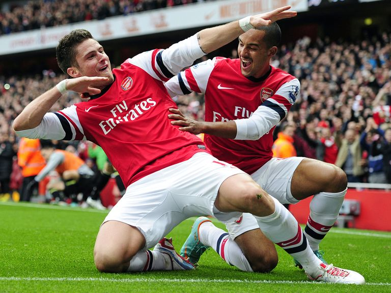Olivier Giroud: In superb form for Arsenal