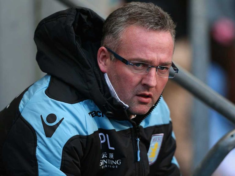 Paul Lambert: Pleased with progress
