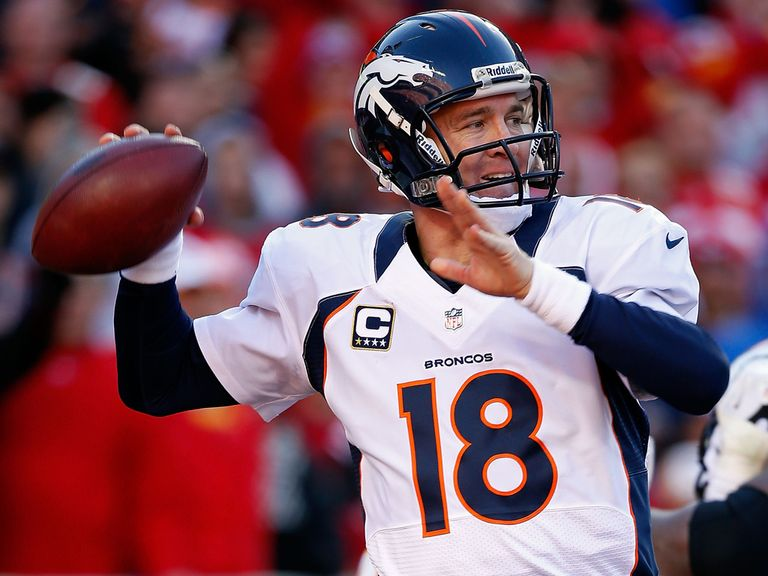 Peyton Manning: Threw for 285 yards and two touchdowns