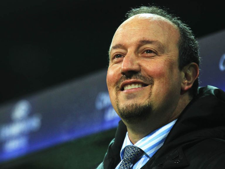 Benitez: Aiming to win trophies