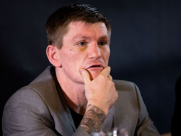 Ricky Hatton: Thinks Flintoff deserves his chance