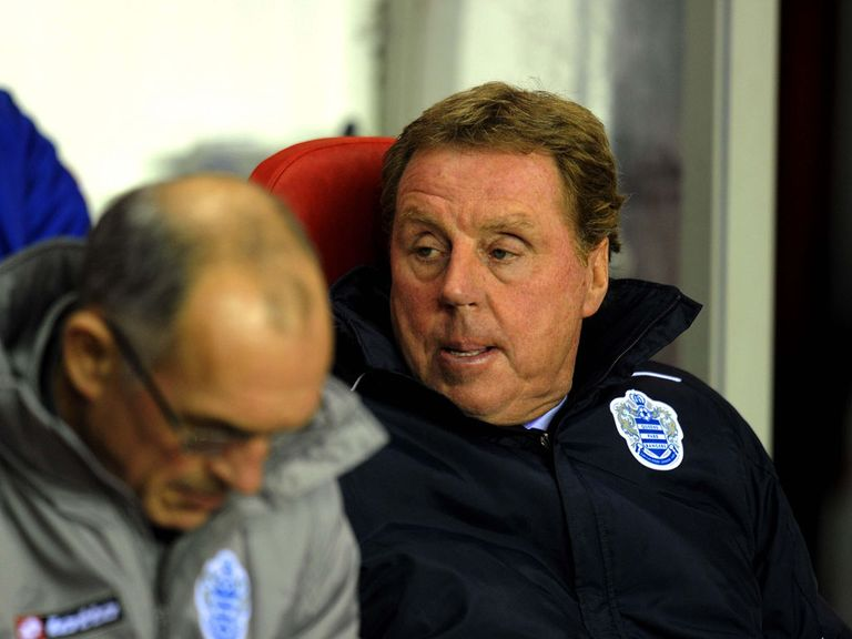Harry Redknapp: Point in first match as QPR boss