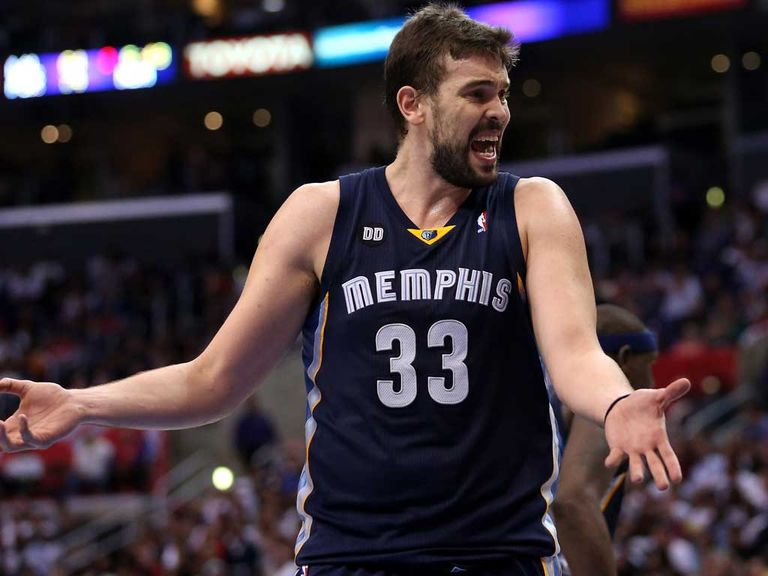 Marc Gasol: Twenty-four points
