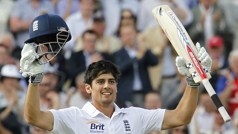 Alastair Cook: England captain enjoyed a run-filled 2012