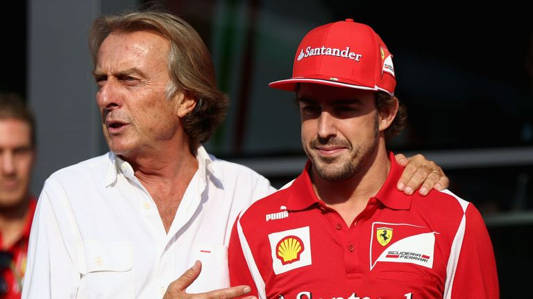 Happy Birthday: Fernando Alonso and Luca di Montezemolo