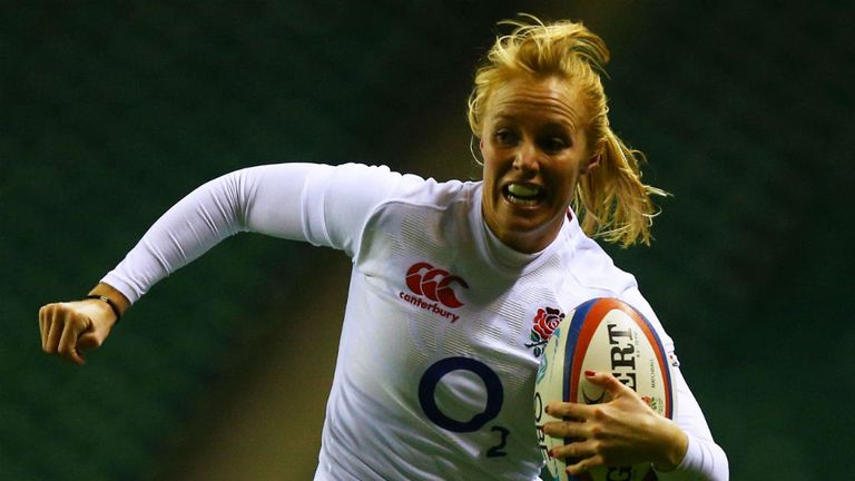 Michaela Staniford: Named the IRB Player of the Year