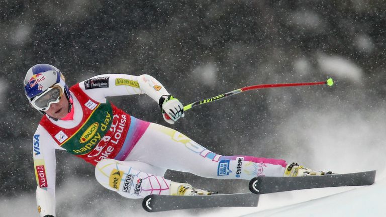 Lindsey Vonn: American continued her dominance in Lake Louise