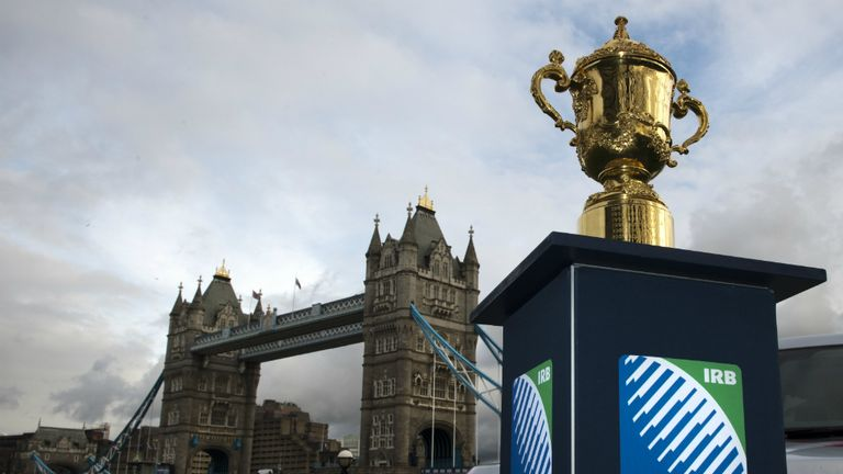 The Rugby World Cup: Taking place in England in 2015