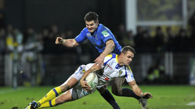 Lee Byrne in action against Leinster on Saturday