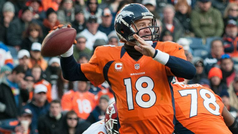 Peyton Manning: Ready to shoot-down the Ravens