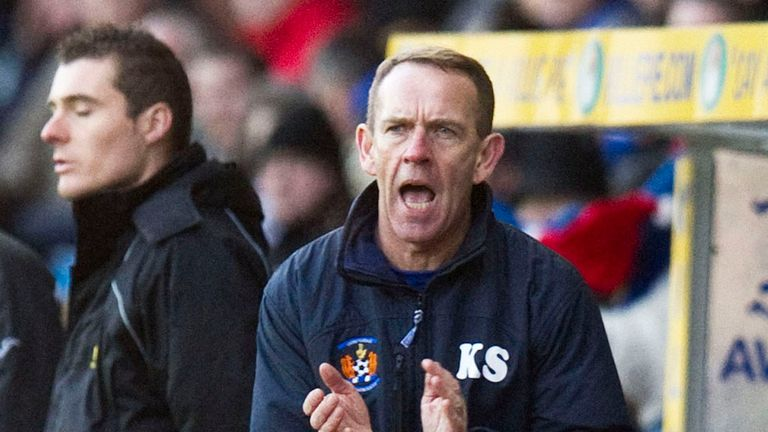Kenny Shiels: Kilmarnock boss has back-tracked over Manuel Pascali