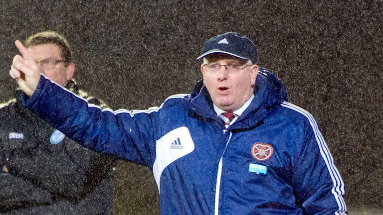 John McGlynn: Was critical of Hearts' finishing during the defeat at Kilmarnock