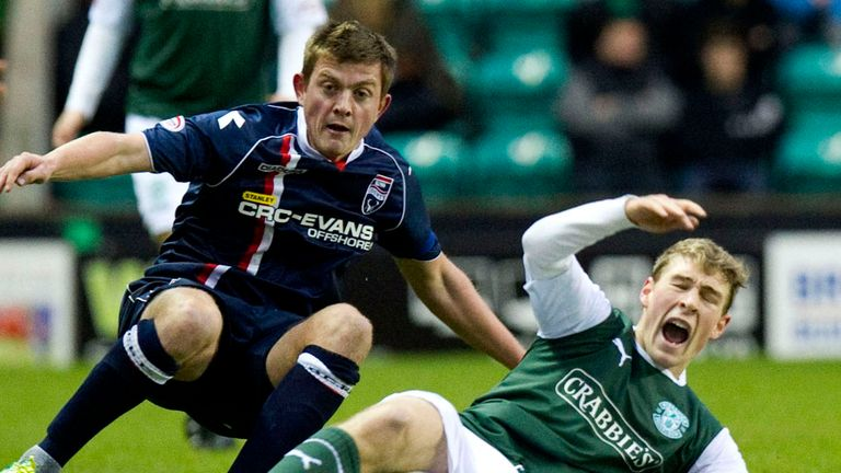Richie Brittain: Ross County may appeal against red card