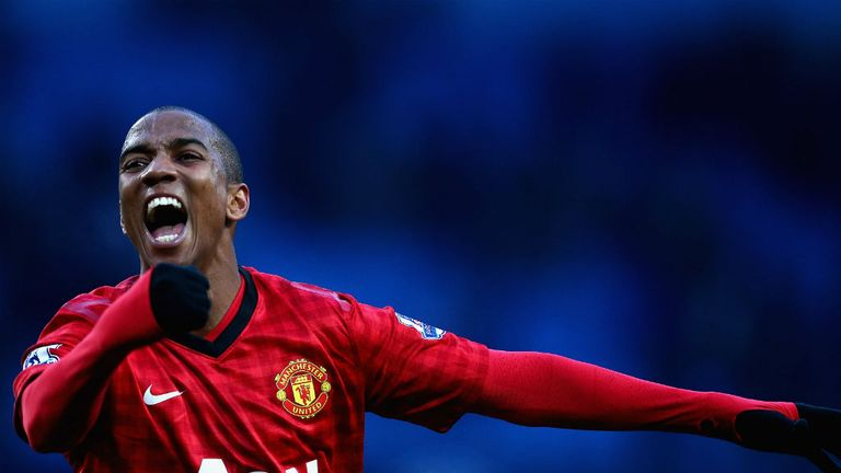 Ashley Young: Made a compelling case at the Etihad for a regular wing role