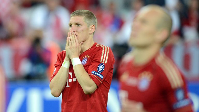 Bastian Schweinsteiger and his Bayern team-mates would love to avenge last season's final defeat, says Jeff